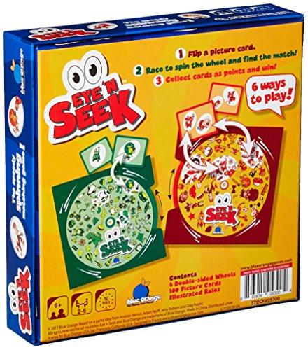 Blue Orange Games Eye 'N Seek Speed Board Game