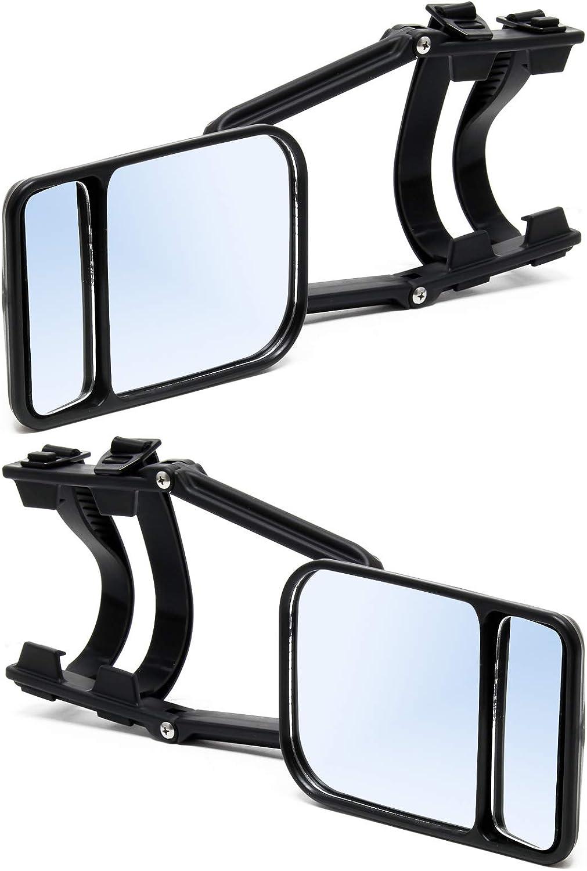 Wiltec Universal Wohnwagenspiegel 2er Set Caravanspiegel Zusatzspiegel Für Wohnwagen Universalspiegel Küche Haushalt