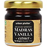 Urban Platter Pure Madras Vanilla Extract, 40g [All Natural, Intensely Aromatic & Alcohol-free]
