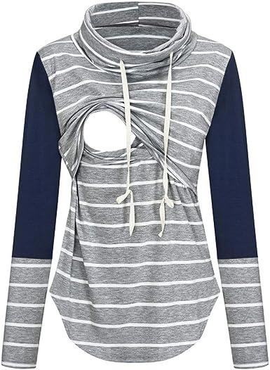 Camiseta de manga larga para mujer, para maternidad, premamá ...