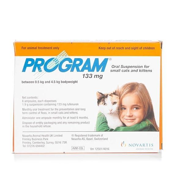 Program Suspensión fÃŒr Gatos 6 x 133mg, un Artículo: Amazon.es: Productos para mascotas