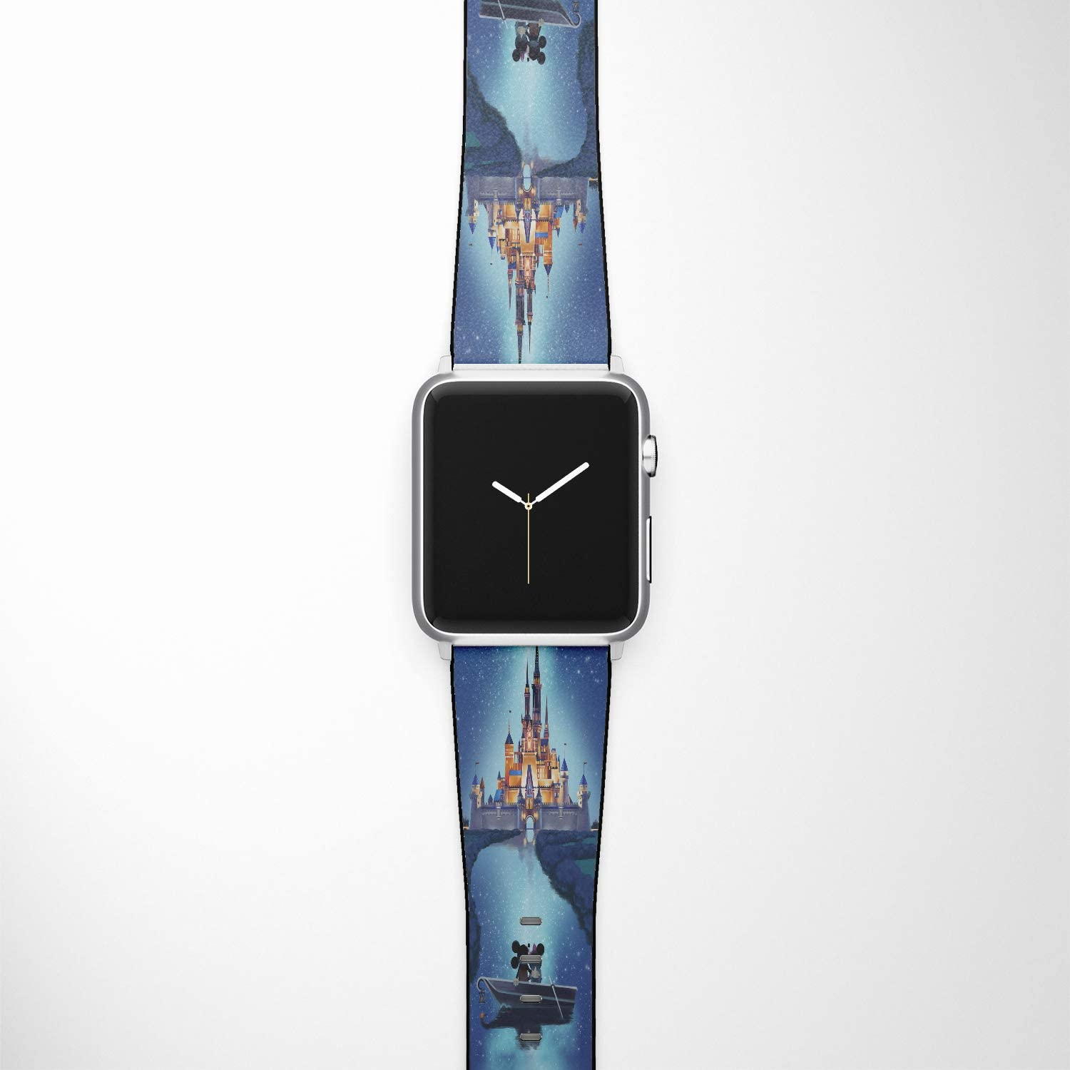 Watch Band Compatible with Apple iWatch All Series 38mm 40mm 42mm 44mm Cartoon Design Strap (dis4) (38/40mm)