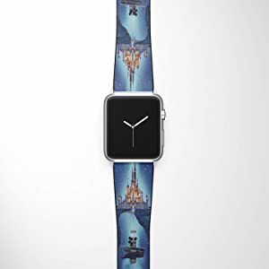 Watch Band Compatible with Apple iWatch All Series 38mm 40mm 42mm 44mm Cartoon Design Strap (dis4) (42/44mm)