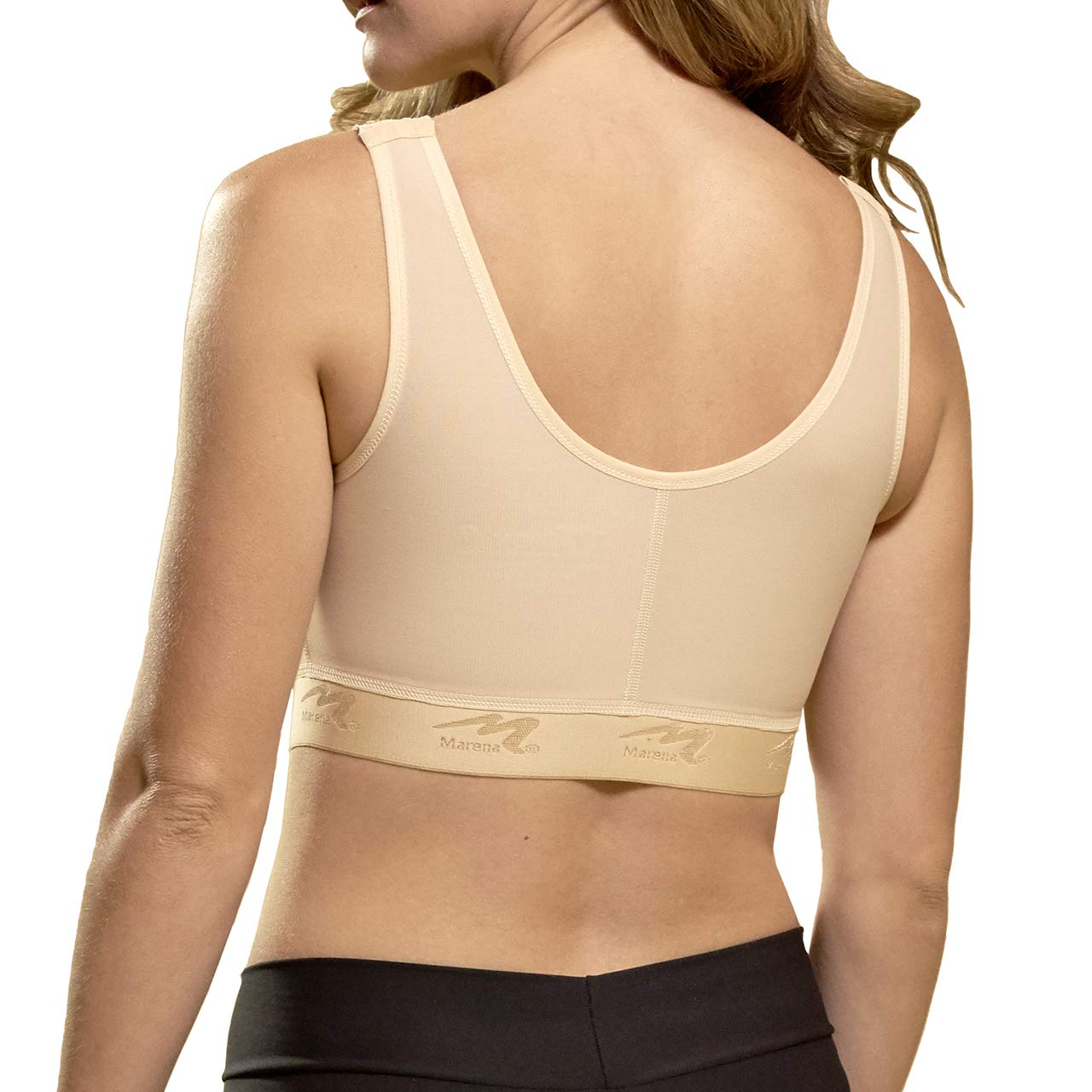 Marena Recovery Compression Bra with Implant Stabilizer Band for Post Surgery