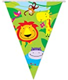 Qualatex 09024 Davies Products Jungle Party Flag Banner