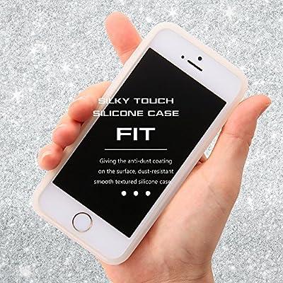 360585b3ee レイ・アウト iPhone SE / iPhone5s / iPhone5 ケース シリコンケース シルキータッチ ホワイト(