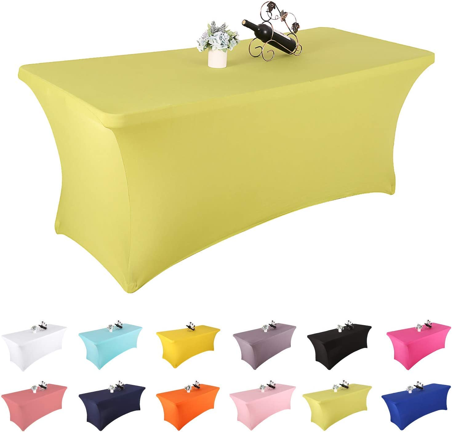 Amazon Promo Code for Rectangular Fitted Spandex Table cloth