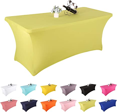Personalized tablecloths 24 W x 48L x 29 H Spandex Fitted Table Cloths Customized table cloths,Tradeshow Fitted Tablecloths