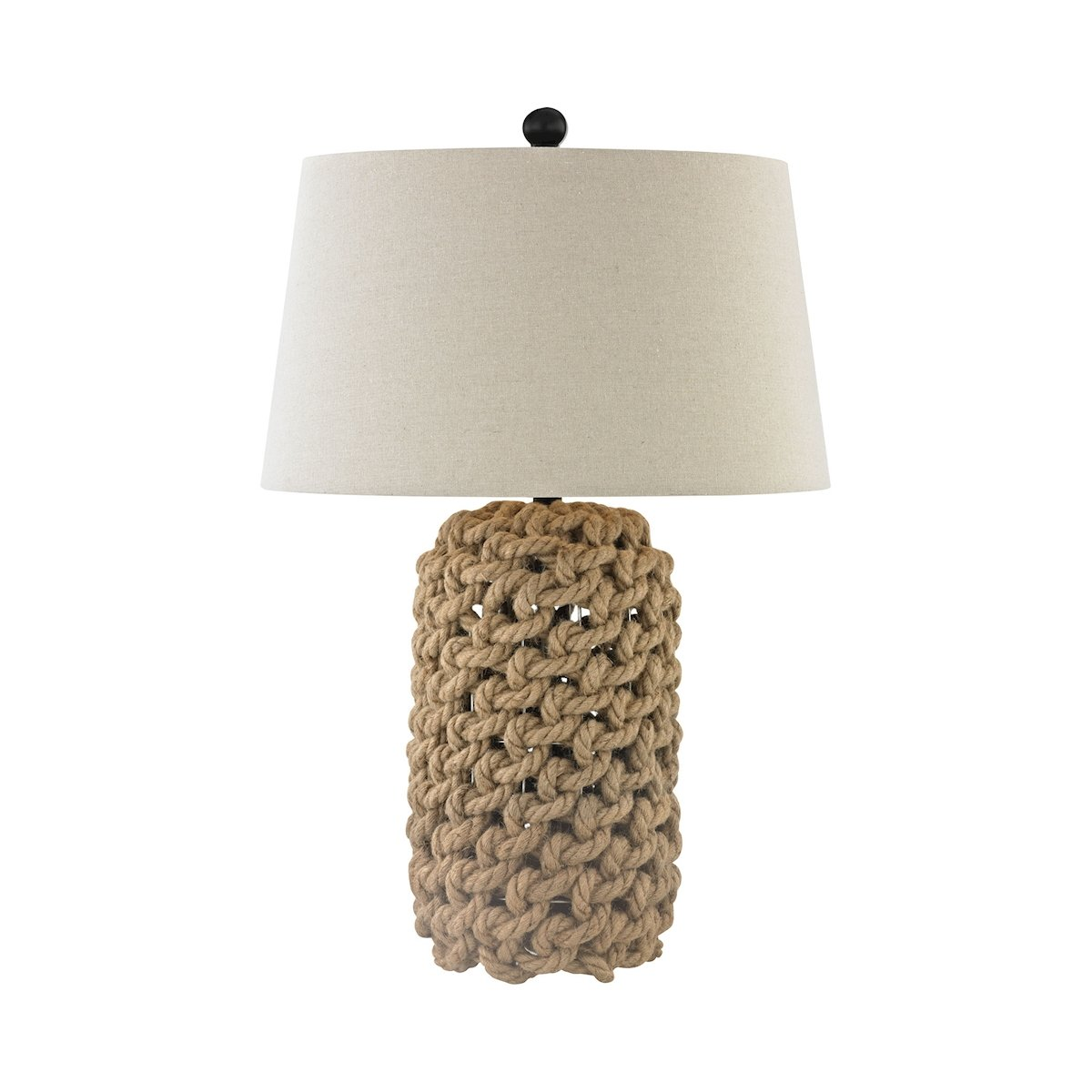 Elk Lighting D3050 Nature Rope And Oil Rubbed Bronze Table Lamp
