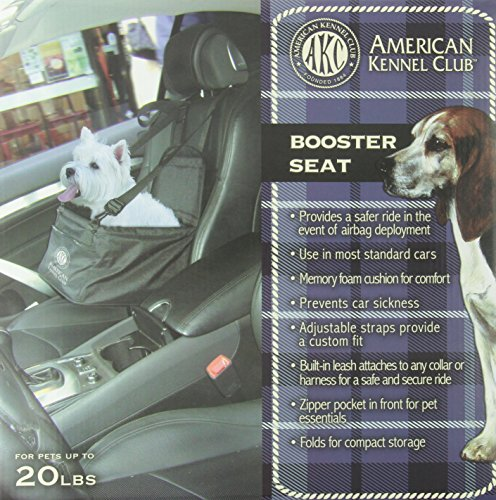 Brilliant Akc American Kennel Club Pet Booster Seat Alphanode Cool Chair Designs And Ideas Alphanodeonline