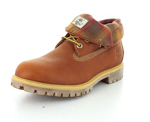 Timberland 9641 B - Botas de Piel para Hombre Marrón marrón: Amazon.es: Zapatos y complementos