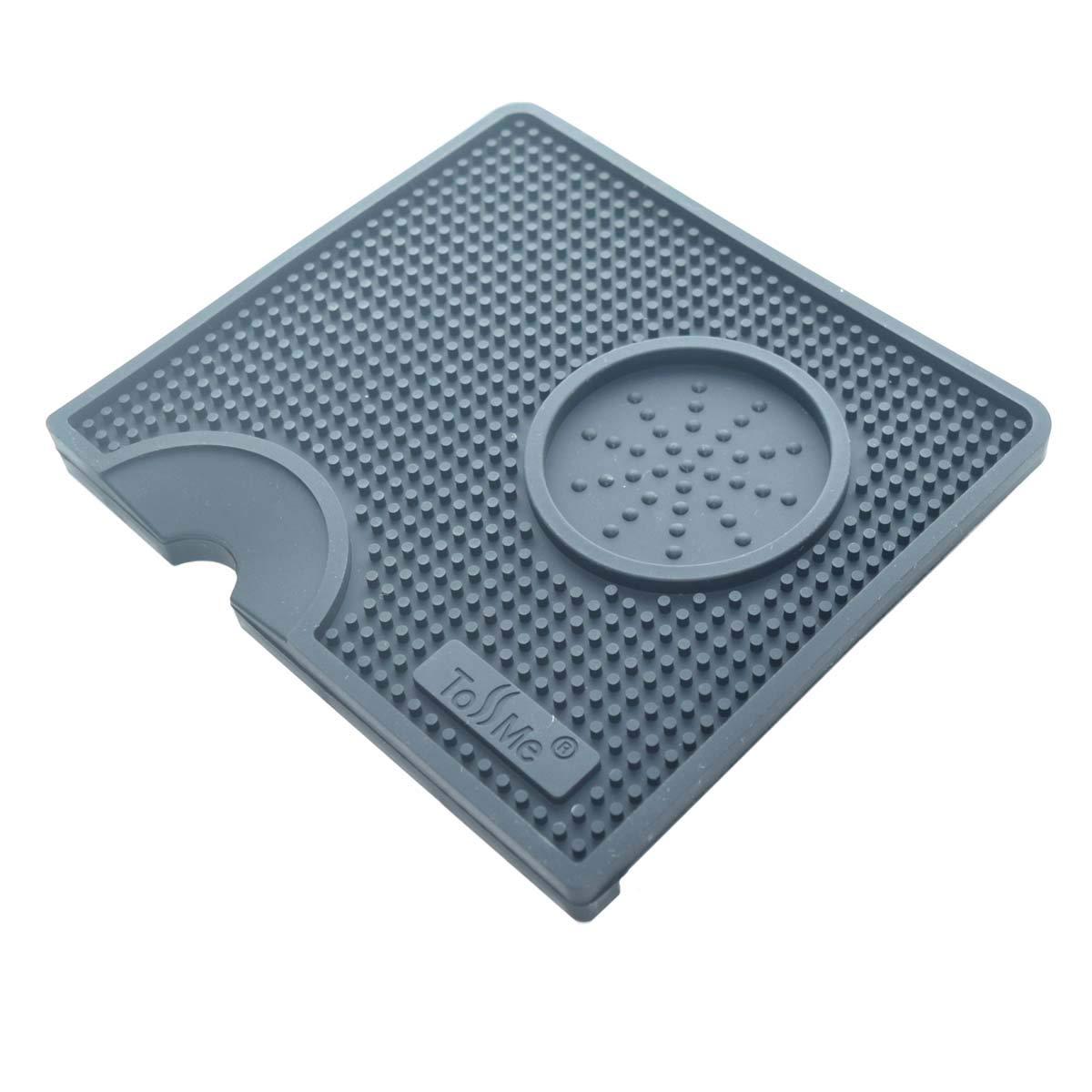 Almohadilla para caf/é en polvo Alfombrilla de silicona para caf/é expr/és TM-CO01 Negro Alfombrilla para caf/é ToSSme Alfombrilla de silicona para caf/é Alfombrilla para caf/é expr/és