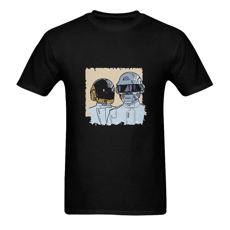 ALLIEED Daft Punk Logo Pulp Fiction T-shirt - black