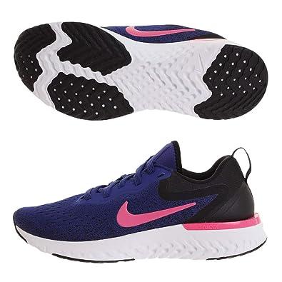 f395cc868fb9b8 Nike Damen WMNS Odyssey React Laufschuhe Mehrfarbig (Deep Royal Blue Pink  Blast Black