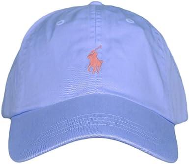 Polo Ralph Lauren Gorra Sport Celeste U Azul: Amazon.es: Ropa y ...
