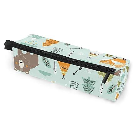 Estuche portátil para gafas, diseño de animales de zorro con ...