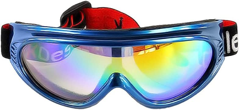 BXT Kid UV400 Ski Snow Googles Outdoor Sun Glasses Windproof Motorcycle Snowmobile Snowboard Goggles Eyewear Airsoft Paintball CS Goggles Protective Safety Glasses Sunglasses UV Protection Sports Ski Goggles