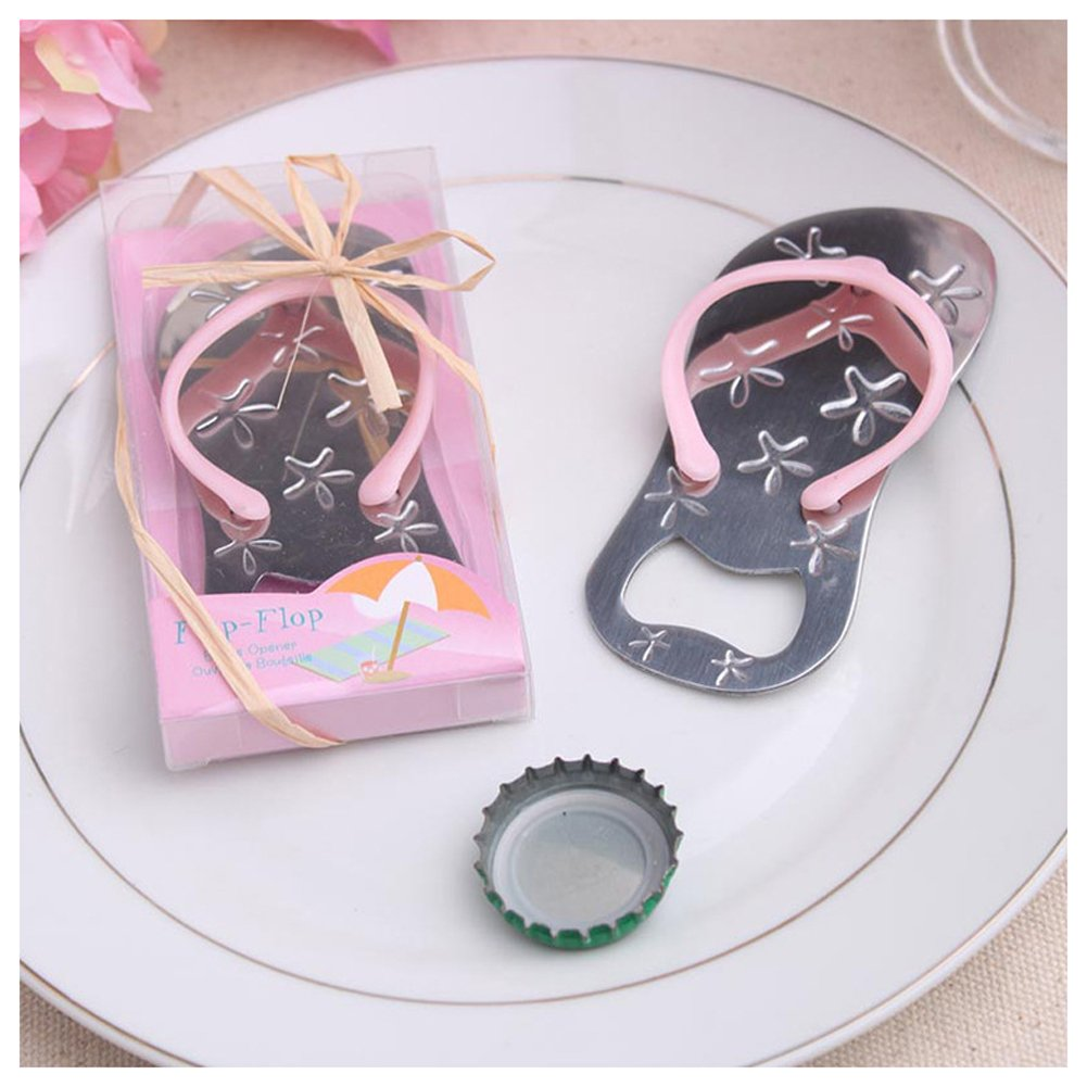 Amazon.com: 24pcs Special Flip-flop Bottle Opener Beach Bridal ...