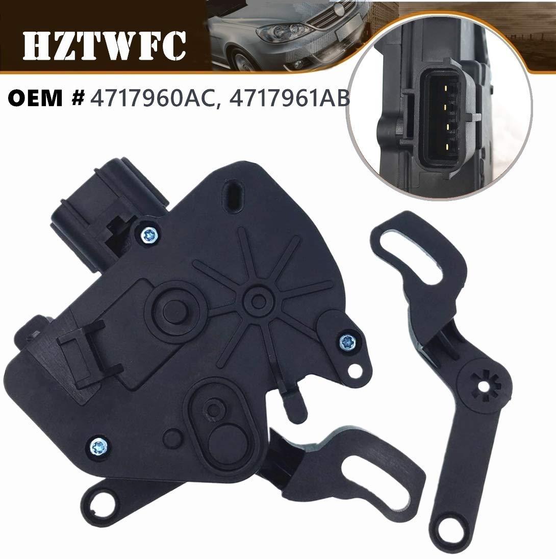 HZTWFC Rear Side Door Lock Actuator Compatible for Dodge Caravan 2001-2007 Chrysler Town /& Country 2001-2010# 4717960AC 4717961AB