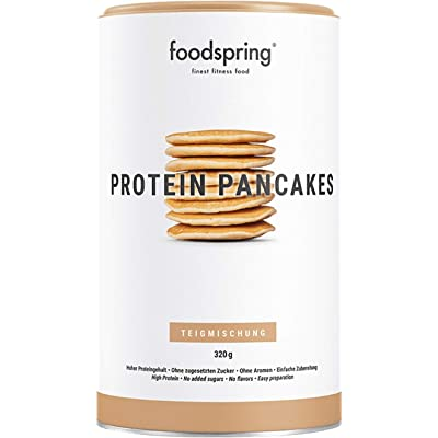 foodspring Tortitas Proteicas, 320g, Sin azúcares añadidos, 6 veces más proteína que las normales, Bajas en carbohidratos
