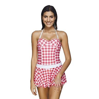 COCO clothing - Traje de una Pieza - para Mujer Rosa 46: Amazon.es ...