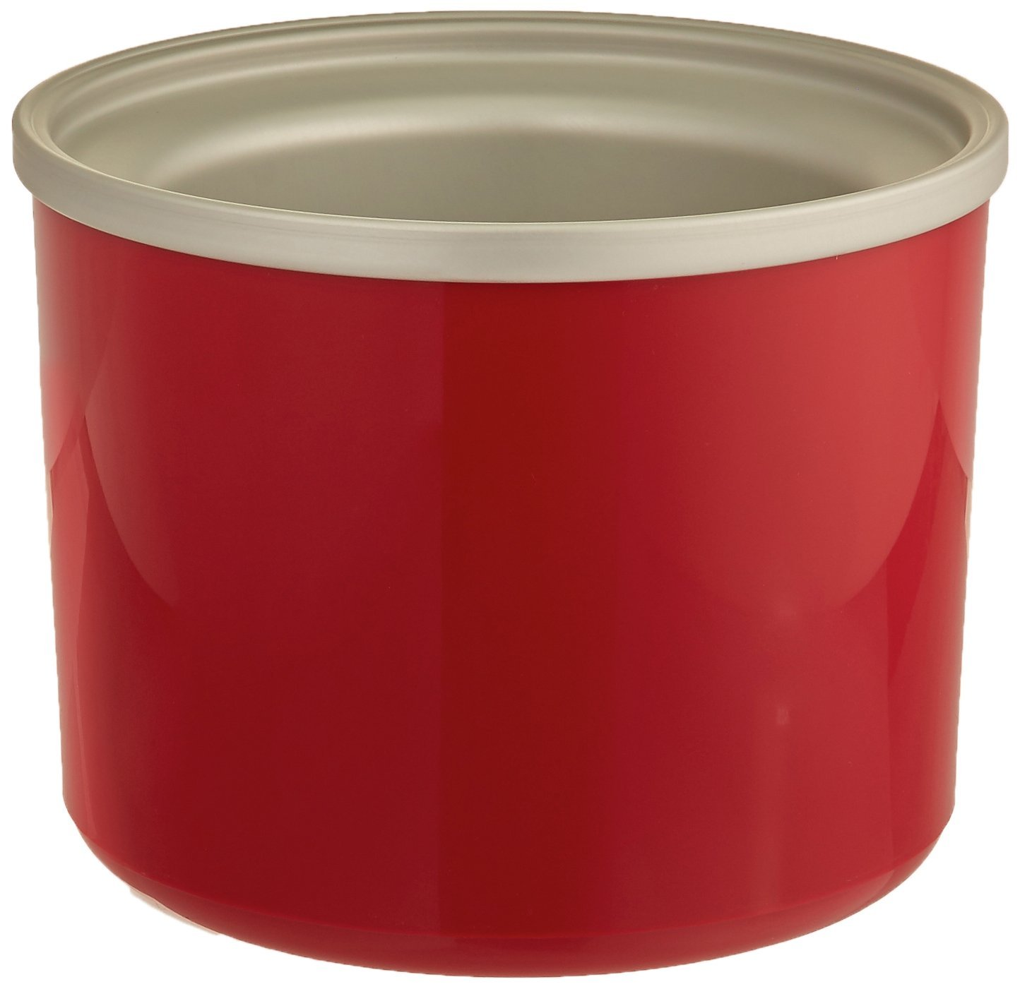 Cuisinart ICE-RFBR Replacement Freezer Bowl, 1-1/2-Quart Capacity, Red