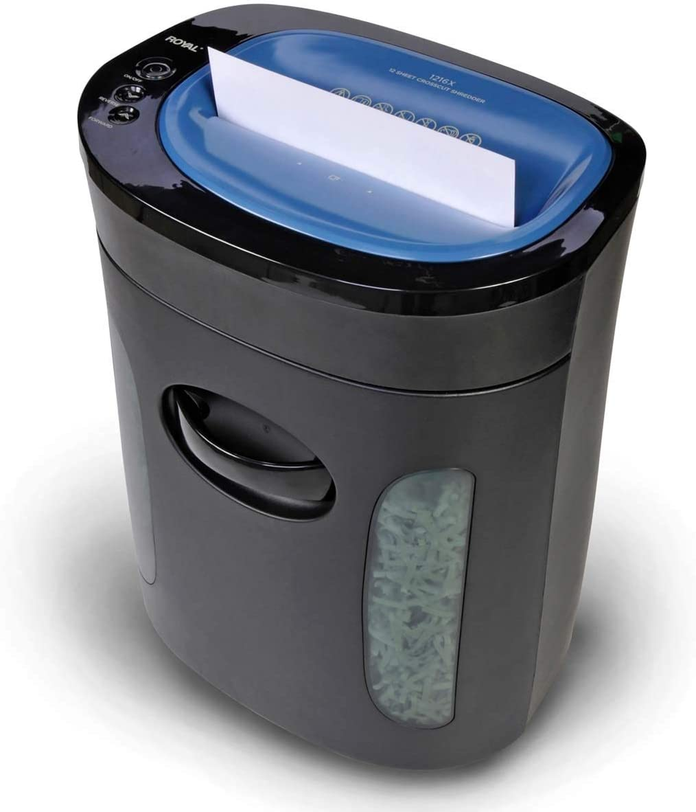 1216X Crosscut Paper Shredder