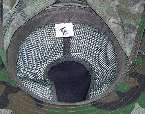 233a63f98a20f Tropic Hats Summer Wide Brim Mesh Safari Outback W Neck Flap   Snap ...
