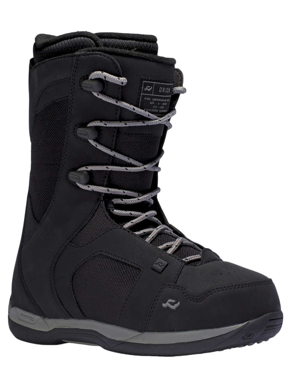 Ride Orion Snowboard Boot Men's Black 6 by Ride Snowboards