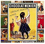 Mini Posters Set [13 posters 8x11] Vintage Chocolate Ads # Posters Reprint