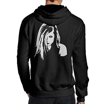 Avril Lavigne Blackstar - Sudaderas con capucha Sudaderas Cool diseño de sudadera con capucha, algodón, negro, XX-Large: Amazon.es: Hogar