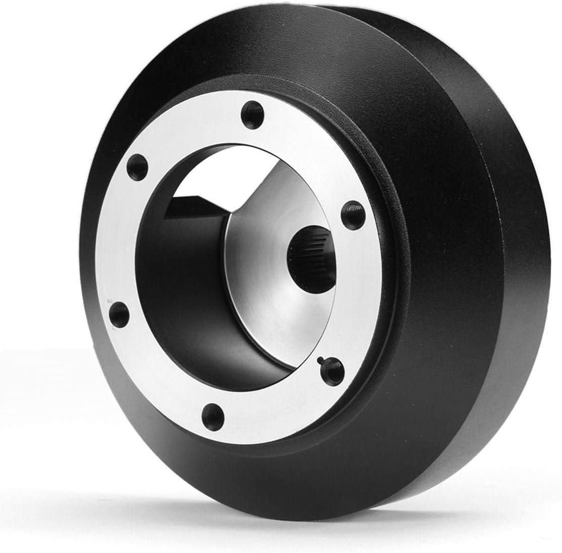 1 pc Steering Wheel Hubs Adapter Boss Kit for Nissan//350Z//370Z NRG Steering Wheel 6-Hole Short Thin SRK-141H Quick Release