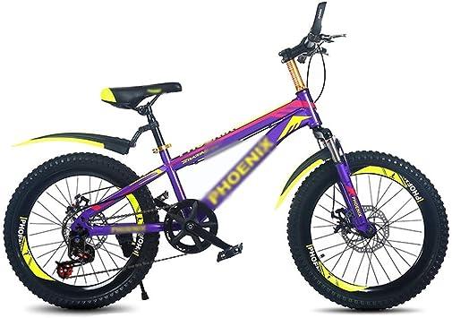 WJSW Bicicletas para niños Bicicleta de montaña para niños ...