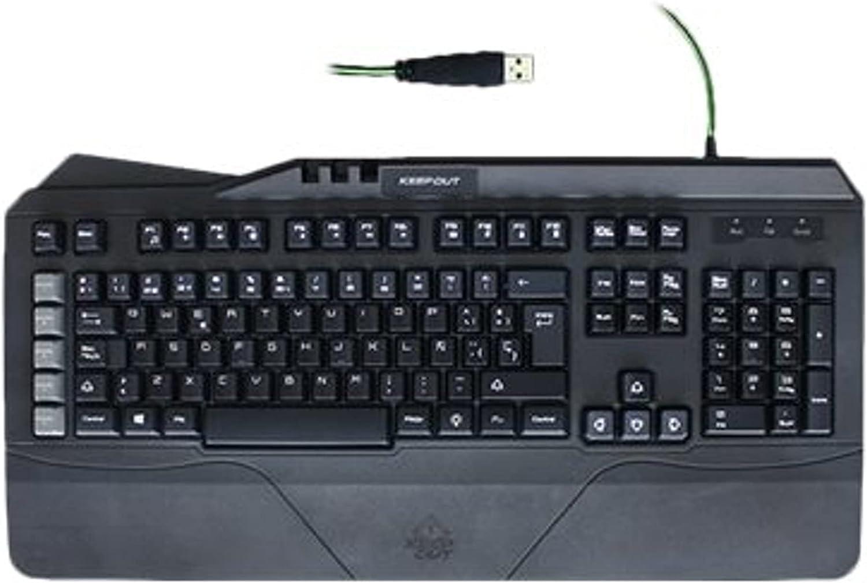Keep Out Gaming F89CHV2 - Teclado con retroiluminación, Color ...