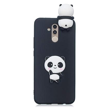 Amazon.com: QIKI Huawei Mate 20 Lite Case, 3D Cartoon Animal ...