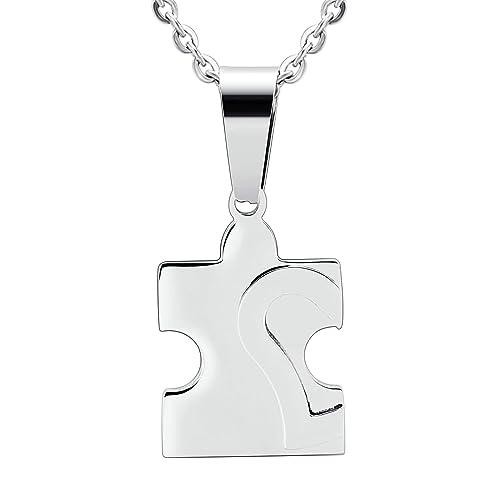 venta online Productos Precio 50% AnaZoz Collar Acero Inoxidable Collar de Hombre Collar ...