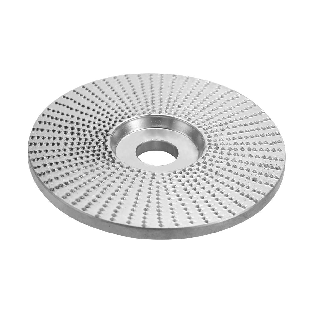 KKmoon Wood Angle Grinding Wheel Sanding Carving Rotary Tool Abrasive Disc for Angle Grinder Tungsten Carbide Coating Bore Shaping 5//8inch Bore
