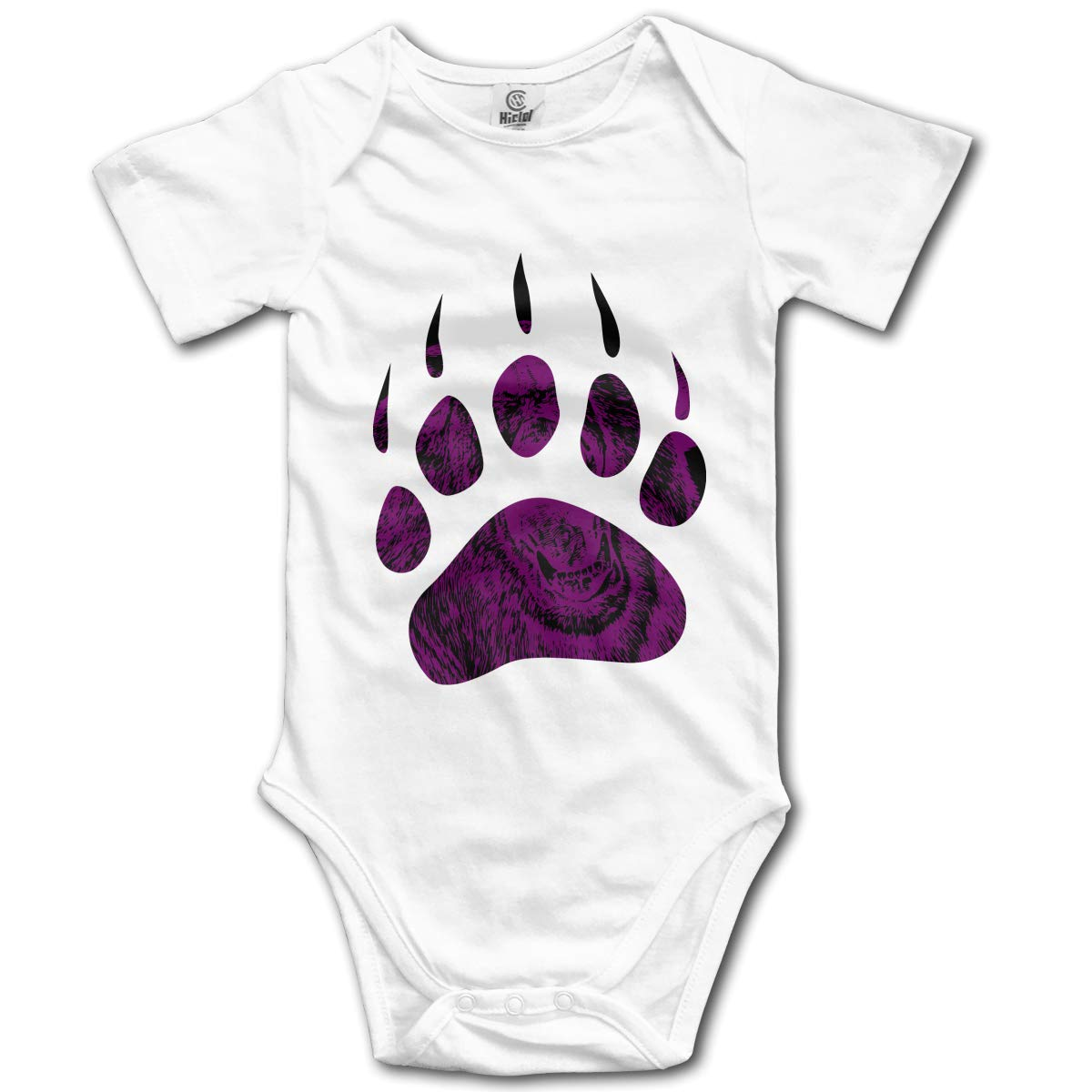 Bear Paw Baby Unisex Short Sleeve One-Piece Coverall 0-24 Months
