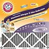 16x25x1 Arm and Hammer; Max Allergen Air Filter, MERV 11