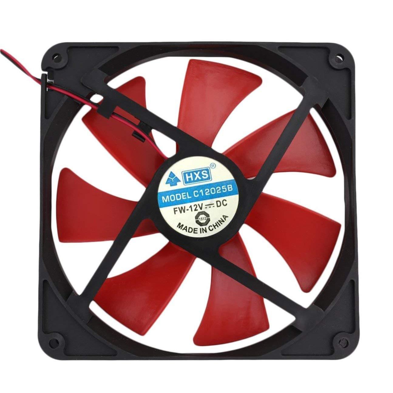 MachinYesell Ventilateur Universel de PC de 140MM Fan de Refroidissement Durable de Cas Durable Populaire dordinateur dutilisation de PC