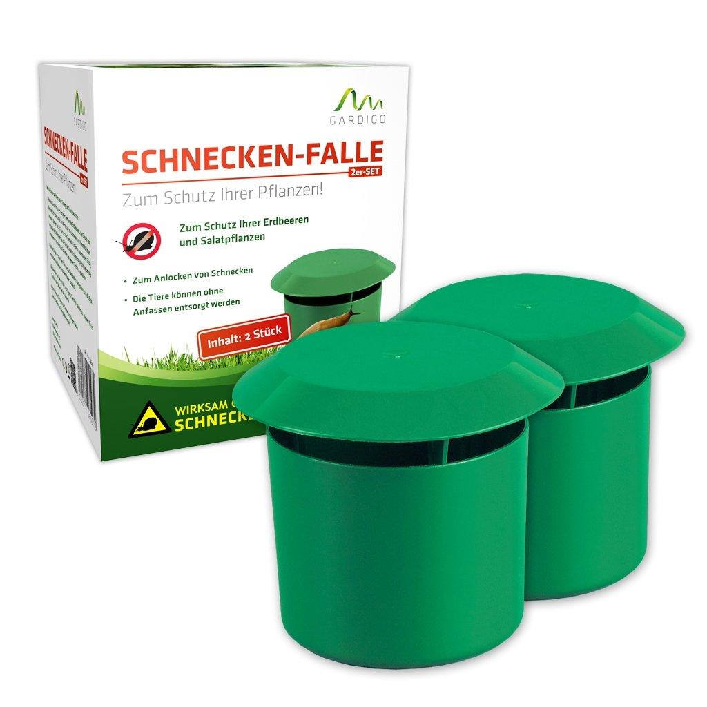 Gardigo Schneckenfalle Snail Trap Lockstoff 2St. 66642