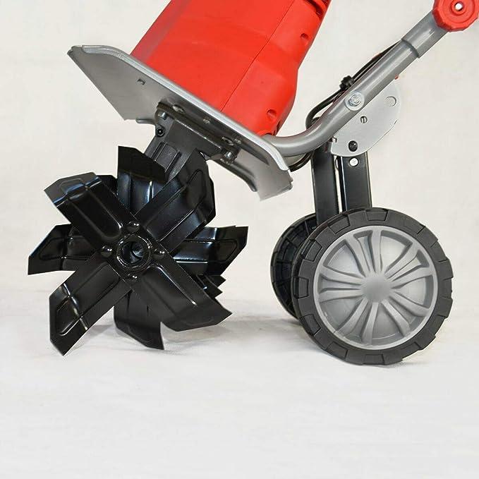 HECHT motoazada eléctrica fresadora fresa eléctrico azada jardín ...
