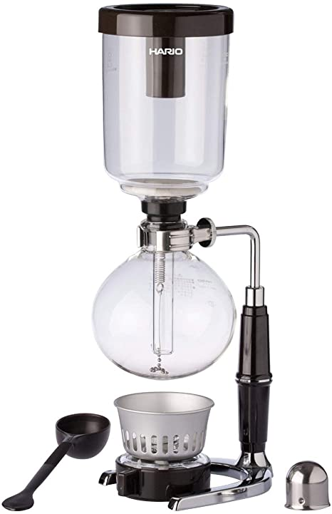Hario Glass Technica Syphon Coffee Maker, 5-Cup