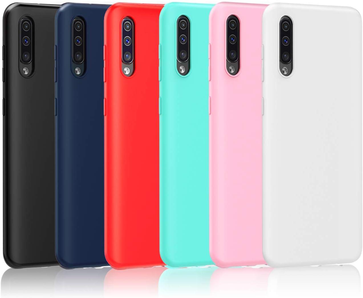 Funda TPU Mate Lisa Samsung Galaxy A50 Silicona Flexible Negro