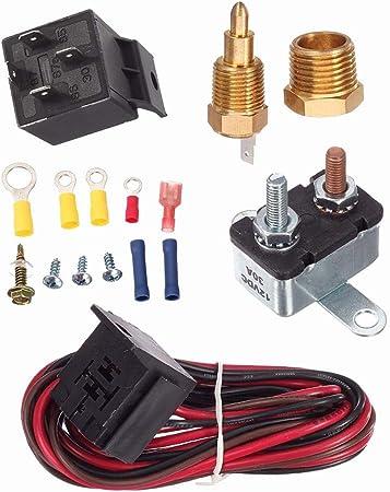 Cokeymove Cambie el Kit de arnés de relé de Sensor, termostato del ...