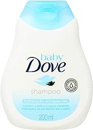 Baby Dove Shampoo Baby Dove Humectación Enriquecida 200 Ml, color Blanco/Azul, 200 ml, pack of/paquete de