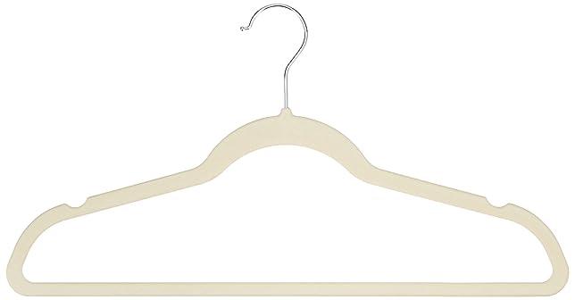 199 opinioni per AmazonBasics- Gruccia con portapantaloni, superficie vellutata, confezione da