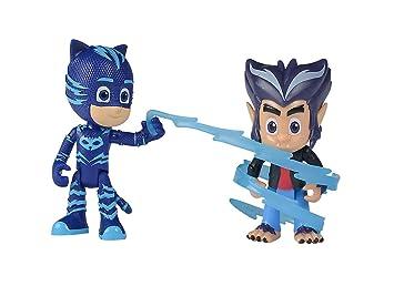 Simba Dickie 109402223 PJ figuras de máscaras de catboy + Howler, unisex de niños
