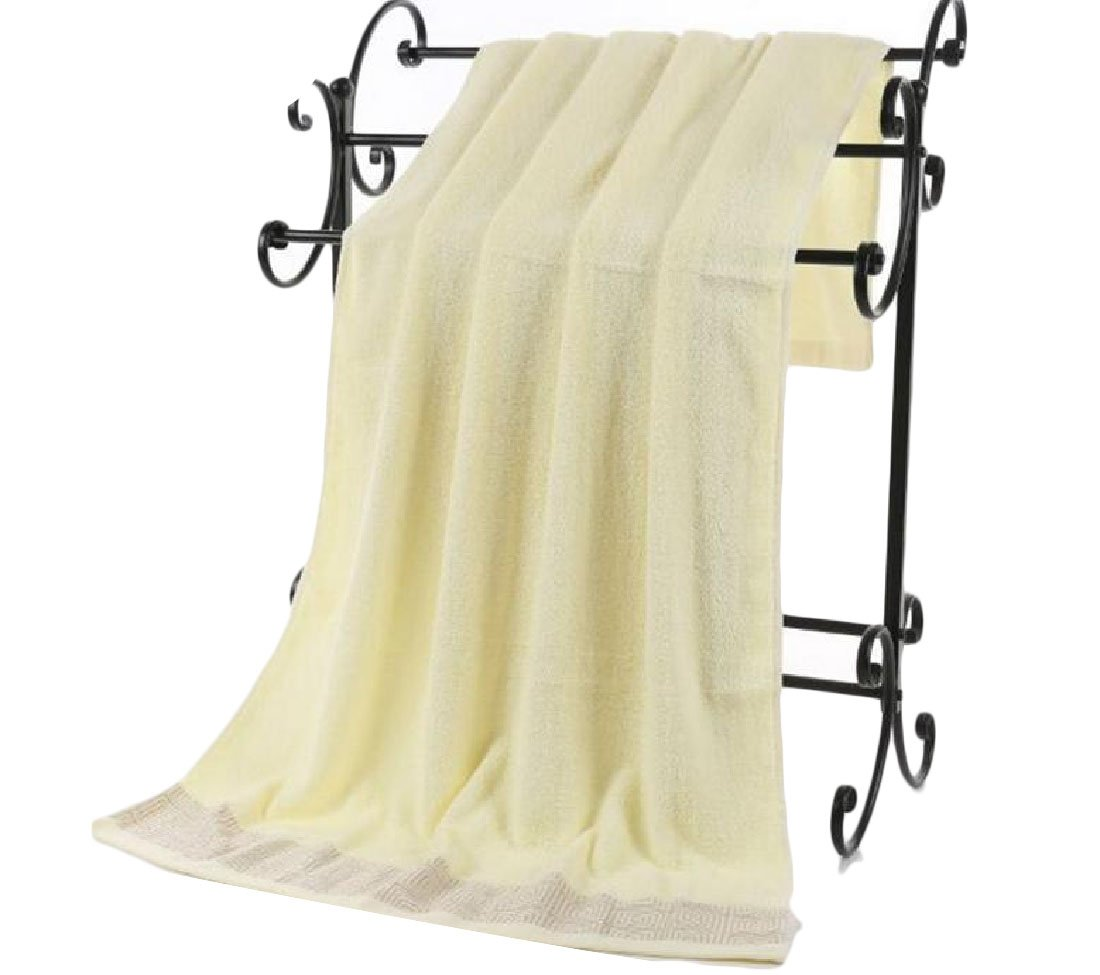 Firheas Plain Easy Care Cute Natural Eco-Friendly Oversized Dressy Ideal for Everyday use Soft Chic Extra Large Bath Sheets AS1 70140