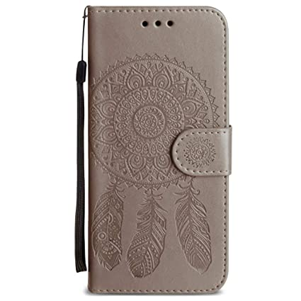 Amazon.com: Funda tipo cartera para iPhone 8 Plus, iPhone 7 ...